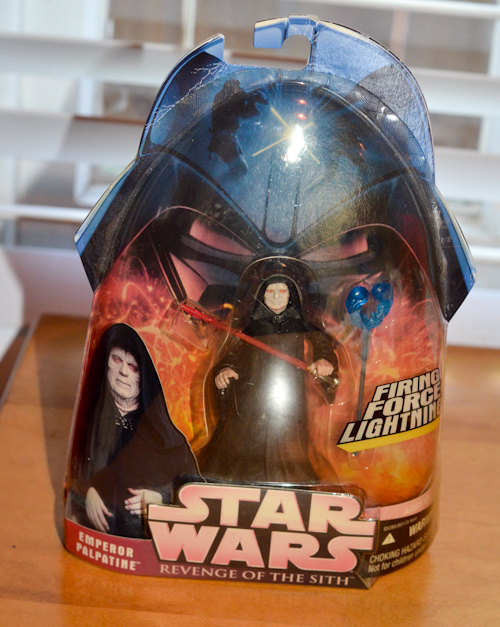 Emperor Palpatine with Firing Force Action