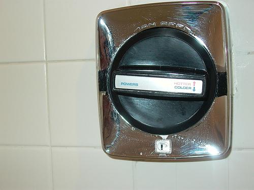 Anaheim Marriott Shower Controls